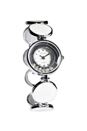 Sinobi Damen-Armbanduhr XS Analog Quarz Edelstahl beschichtet 9236/BL