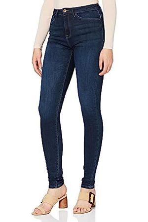 ONLY Damen Onlpaola Hw Dnm Azgz878 Noos Skinny Jeans