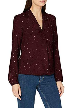 Seidensticker Damen Bluse – Fashion Bluse - Wickelbluse - V-Neck - Regular Fit – Langarm – 100% Viskose