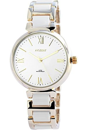 Akzent Damen Analog Quarz Uhr mit Kein Armband SS7802000016