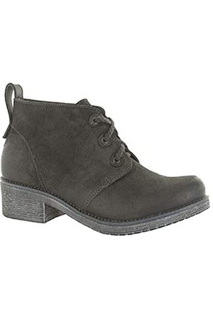 Naot Women's Love Oily Midnight Suede/Black Raven Leather 38 M EU