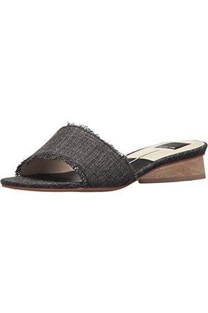 Dolce Vita Women's ADALEA Slide Sandal, ASH DENIM