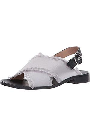 Shellys Women's Endy Flat Sandal, grey