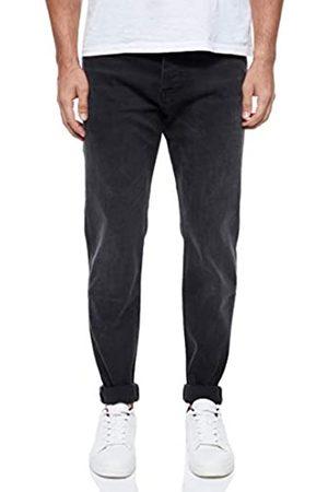 HUGO BOSS Herren Taber BC-P Tapered-Fit Jeans aus gewaschenem Super-Stretch-Denim