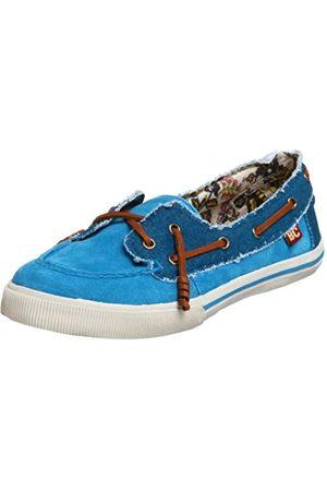 BC Footwear Damen Step On It Loafer, (türkis)