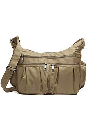 VOLGANIK ROCK Crossbody Geldbörsen für Frauen RFID Schulterhandtaschen Wasserdicht Nylon Reisetasche Pocketbooks