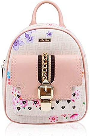 RenDian Damen Mini Fashion Rucksack Geldbörse Kleiner Rucksack Geldbörse für Frauen Anti-Diebstahl Leder Schultertaschen