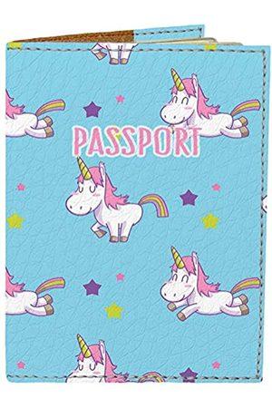 Fastoni Reisepasshülle – Halter für Männer und Frauen Kinder – Designer vegan Leder Reisetasche