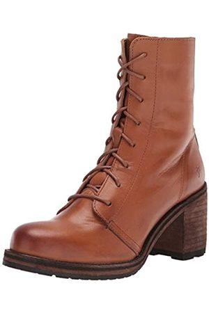 Frye Damen Karen Combat Boot, (cognac)