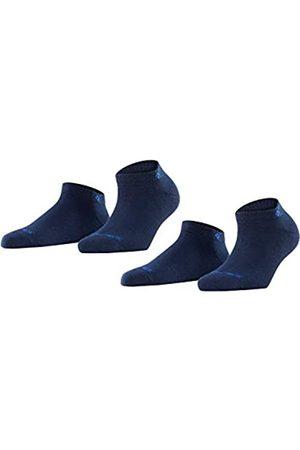 Burlington Damen Sneakersocken Everyday 2-Pack - Baumwollmischung, 2 Paar
