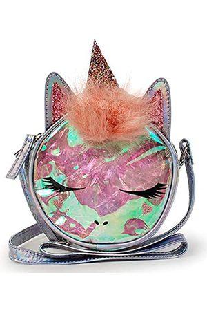 Funky Junque Mädchen Einhorn Katze Mini Rucksack Crossbody Tier Tasche Reißverschluss Tasche