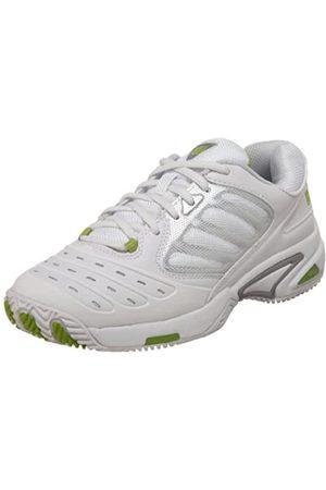 Wilson Women's Tour Vision Tennis Shoe,White/Silver/Green