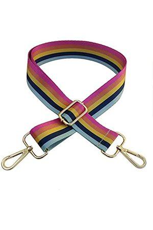 Beacone Verstellbarer Schultergurt, breiter Ersatzgurt für Crossbody-Tasche, Geldbörse, Handtasche, Mehrere (Rainbow Stripe)