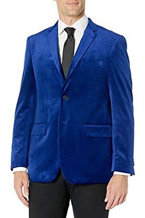 Kitonet Herren Slim Fit Solid Velvet Blazer