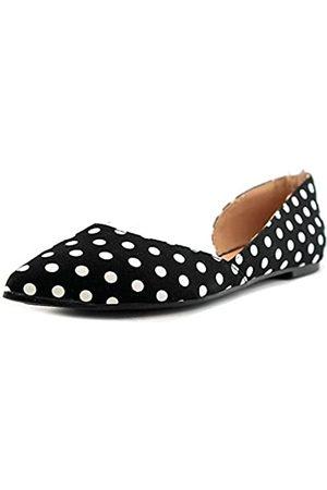 Journee Collection Damen Regular und Wide Wide Wide Pointed Toe Cut-Out Flach, ( / )