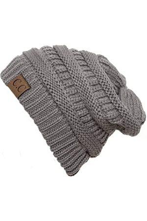 Gravity Threads Knit Soft Stretch Beanie Cap