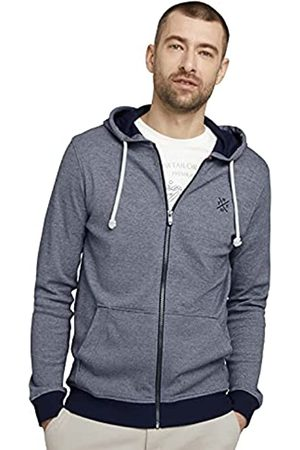 TOM TAILOR Herren 1025989 Jacket T-Shirt, 22904-Offwhite Navy Stripe