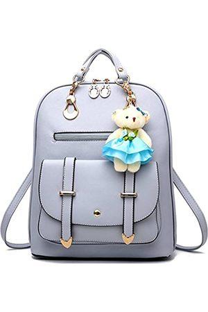 ZIRUNG Rucksack Geldbörse für Frauen Große Kapazität Leder Schultertaschen Niedlich Mini Rucksack für Mädchen