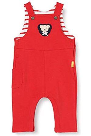 Steiff Baby-Mädchen mit süßer Teddybärapplikation Latzhose