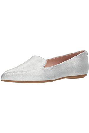 Taryn Rose Damen Faye Shimmer Metallic Loafer flach