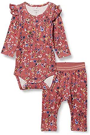 NAME IT Child Leggings Blumenprint Strampler und 68Withered Rose