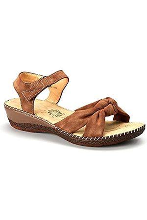 Madness Damen-Sandale mit offenem Zehenbereich, ( 5977)