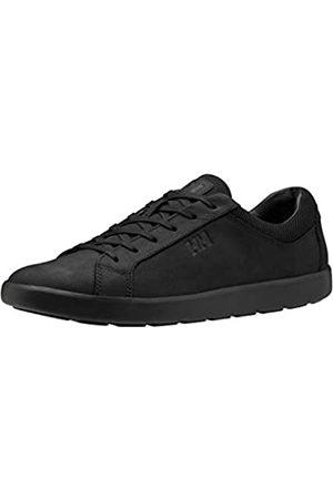 Helly Hansen Herren Vernon Leather Sneaker, 990 Black/Black