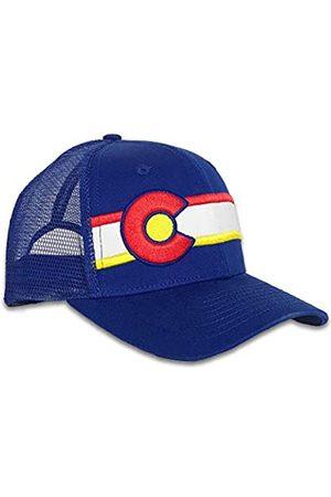 Colorado Limited Unisex Colorado Trucker Hat - Mesh Back Cap mit verstellbarer Passform - Blau - Einheitsgröße