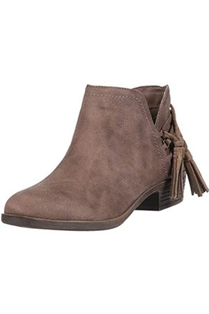 Rampage Damen TIAAN Womens Cut Out Ankle Bootie with Decorative Side Tassle Stiefelette