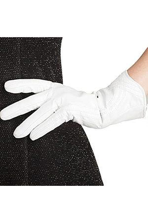 Nappaglo Damen Lederhandschuhe Italienisches Lammfell Touchscreen Winter Warm Kaschmir Handschuhe Gr. 38