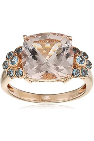 Renato Fellini Damen-Ring 585 Gelbgold teilvergoldet Morganit Kissenschliff Aquamarin Gr. 59 (18.8) - HEJR-2781 19