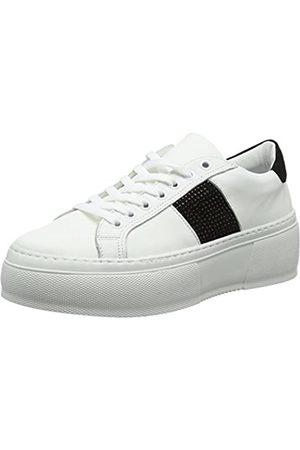 Bronx Damen Sahar Sneaker, (White/Black 204)