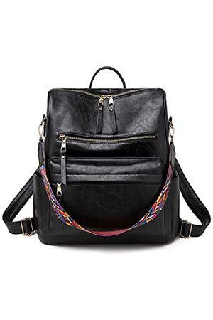 salamra Frauen Mode Rucksack Mehrzweck-Design Handtaschen und Schultertasche PU Leder Reisetasche mit großer Kapazität