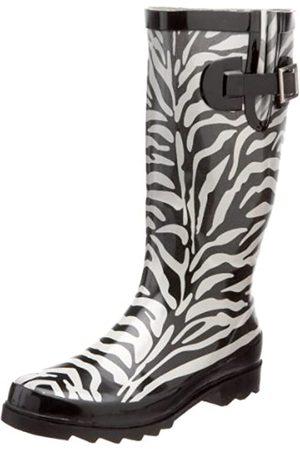 Western Chief Damen Zebra Fade, Grau