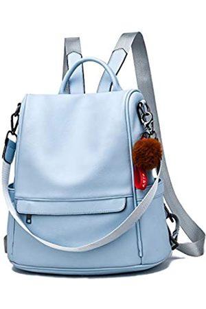 BAFEYU Women Backpack Purse PU Leather Anti-theft Casual Shoulder Bag Fashion Ladies Satchel Bags
