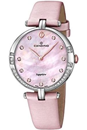 Candino Damen Analog Quarz Uhr mit Leder Armband C4601/3