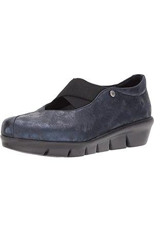 Wolky Comfort Slippers Cursa - 10823 Marineblau Metallic Nubuk - 41