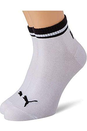 PUMA Unisex-Adult Heritage Quarter (2 Pack) Socks