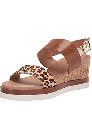Crevo Damen Violet Keilabsatz-Sandale