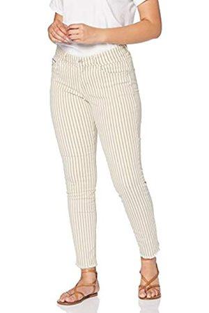 Mac Damen Fringe Slim Jeans