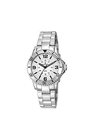 Radiant Damen Analog Quarz Uhr mit Polyurethan Armband RA232201_Plateado