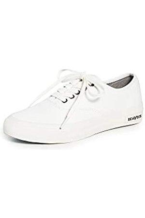 Seavees Damen 06/64 Legend Pan AMFashion Sneaker, Weiß (Bleach Poplin)