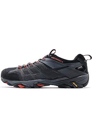 Merrell Herren Moab FST 2 GTX Walking Shoe, Black/Granite