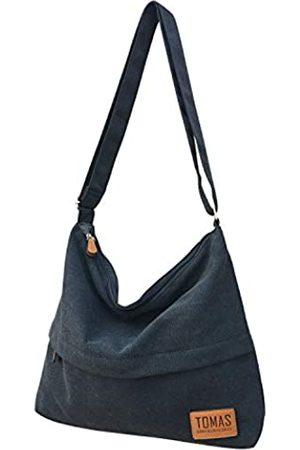 TOMAS Damen Hobo Handtaschen Canvas Schultertasche Hobo Crossbody Bag Casual Tote Bag Geldbörse Shopping Arbeit Reisetasche
