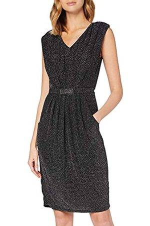 Mela Damen London-Glitz Belted Dress Lässiges Kleid
