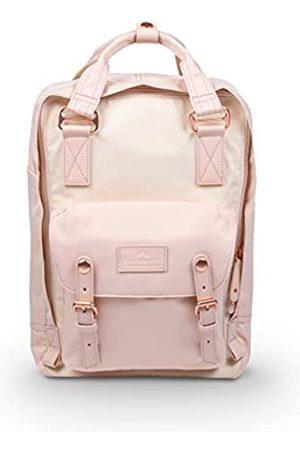 Doughnut Macaroon Nature Pale Series 16L Travel School Ladies College Girls Lightweight Commuter Casual Daypacks Bag Backpack (Soft Sunrise x Hazy)