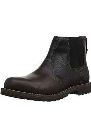 Timberland Men's Larchmont Dark Brown Leather Chelsea Boot (9706A)