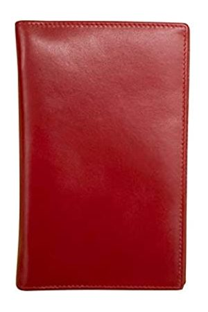 ili New York 7507 Reisebrieftasche aus Leder mit RFID-blockierendem Futter und Druckverschluss