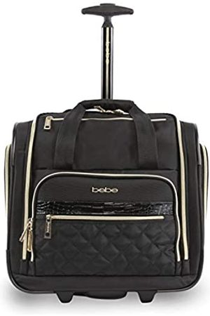Bebe Women's Leena-Wheeled Under The Seat Carry On Bag, Black
