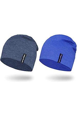 EMPIRELION 22,9 cm multifunktionale, leichte Beanies Hüte, 2 Stück, Laufmütze, Helm